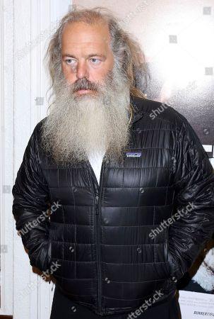 """Rick Rubin arrives at the LA Premiere of """"Bunker77"""", in Santa Monica, Calif"""