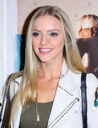 """Elle Evans arrives at the LA Premiere of """"Bunker77"""", in Santa Monica, Calif"""