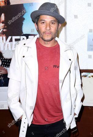 "Christian Hosoi arrives at the LA Premiere of ""Bunker77"", in Santa Monica, Calif"