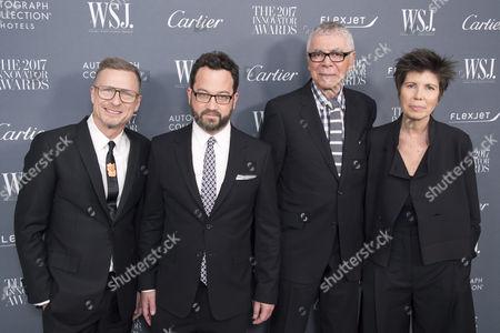Editorial picture of WSJ. Magazine 2017 Innovator Awards, Arrivals, New York, USA - 01 Nov 2017
