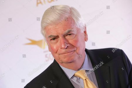 Stock Picture of Former Senator Chris Dodd attends AFI's 50th Anniversary Gala at The Library of Congress, in Washington