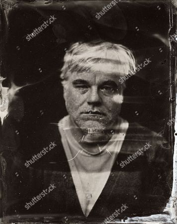 Editorial picture of 2014 Sundance TIn Type Portraits - Philip Seymour Hoffman, Park City, USA