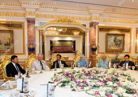 Editorial photo of Prince Charles and Camilla Duchess of Cornwall visit to Brunei - 02 Nov 2017