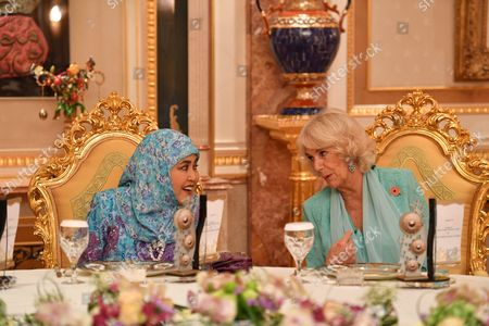Editorial image of Prince Charles and Camilla Duchess of Cornwall visit to Brunei - 02 Nov 2017