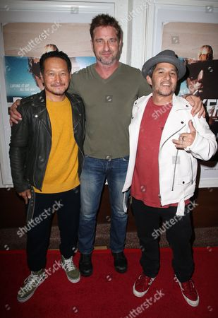 Takuji Masuda, Gerard Butler, Christian Hosoi