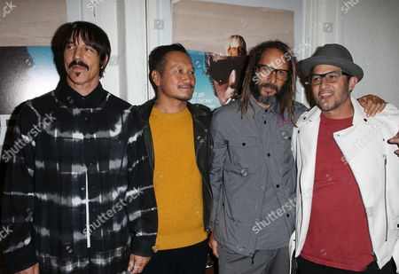 Stock Photo of Anthony Kiedis, Takuji Masuda, Tony Alva, Christian Hosoi