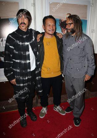 Anthony Kiedis, Takuji Masuda, Tony Alva