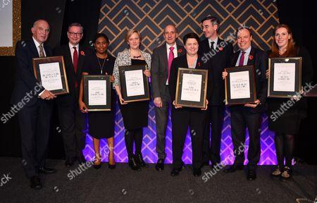Michael Gove MP, Stella Creasy, Sir Vince Cable, Lord Adonis, Angela Rayner, Jacob Rees-Mogg, Nigel Dodds, Ruth Davidson MSP