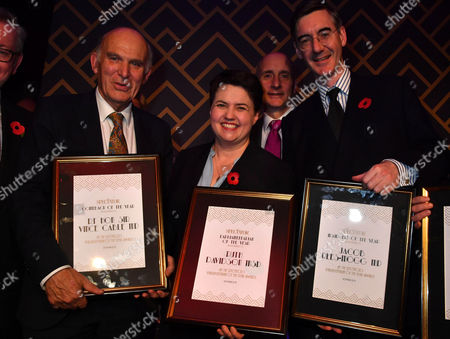 Sir Vince Cable, Lord Adonis, Jacob Rees-Mogg MP , Ruth Davidson MSP