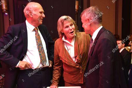 Vince Cable MP, Rachel Smith, Matthew Parris