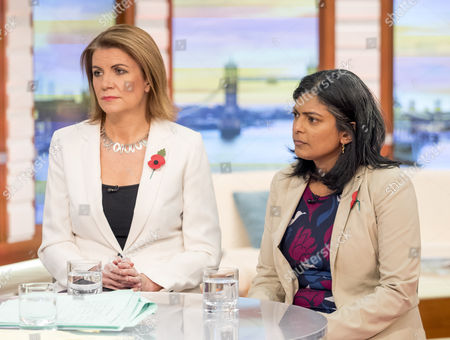 Julia Hartley-Brewer and Rupa Huq MP