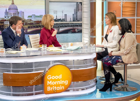 Julia Hartley-Brewer and Rupa Huq MP, Ben Shephard, Kate Garraway