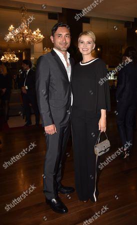 Andrea Osvart with Roberto