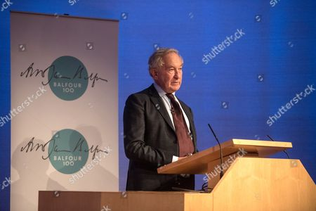 Simon Schama delivers The Balfour 100 Lecture.