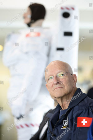 Stock Picture of Claude Nicollier