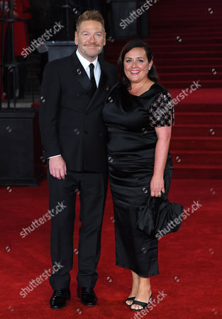 Editorial image of 'Murder on the Orient Express' film premiere, Arrivals, London, UK - 02 Nov 2017