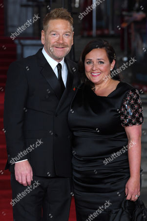 Stock Image of Kenneth Branagh and Lindsay Brunnock