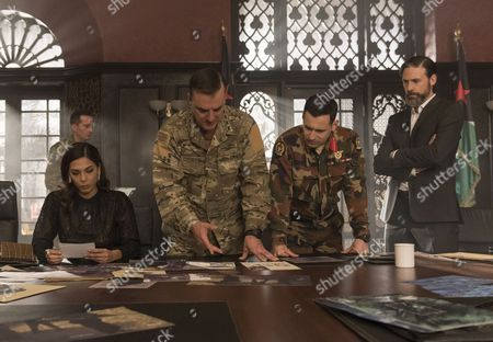 Moran Atias, Chris Noth, Adam Henderson Scott, Adam Rayner