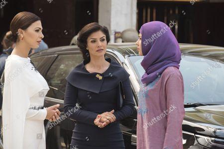 Moran Atias, Basma Hassan, Annet Mahendru