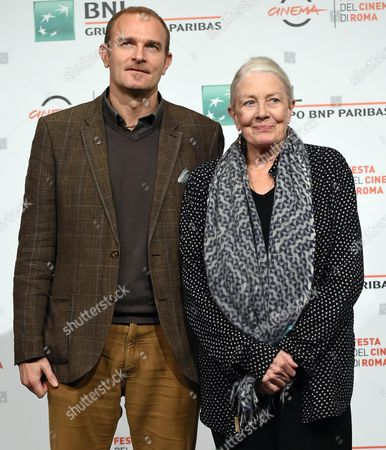 Vanessa Redgrave and Carlo Gabriel Nero