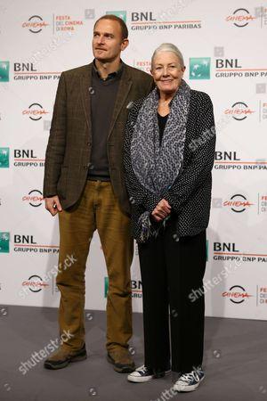 Vanessa Redgrave with her son Carlo Nero