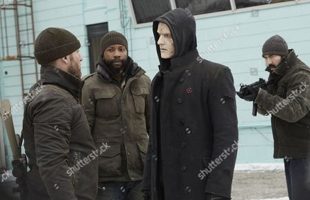 Stock Picture of Patrick Stevenson, K.C. Collins, Rupert Penry Jones, Kevin Durand