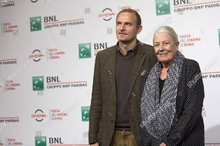 Vanessa Redgrave and her son Carlo Nero