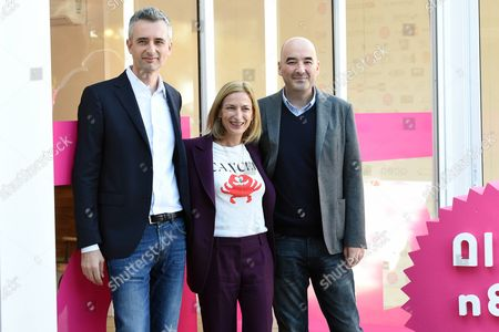 Marco Danieli, Zoe Cassavetes and Nicola Guaglianone