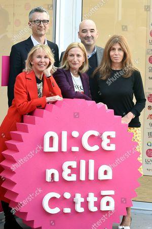 Marco Danieli, Zoe Cassavetes, Nicola Guaglianone, Trudie Styler and Camilla Nesbitt