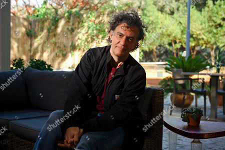 Director Jean-Stephane Sauvaire poses for portraits for the film 'A prayer before dawn' at the 12th Rome Film Fest in Rome