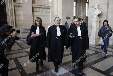 Stock Image of Corinne Serfati, Ariel Goldmann and Elie Korchia