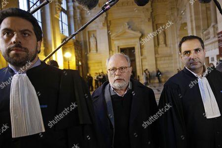 Patrick Klugman, Elie Korchia and Samuel Sandler