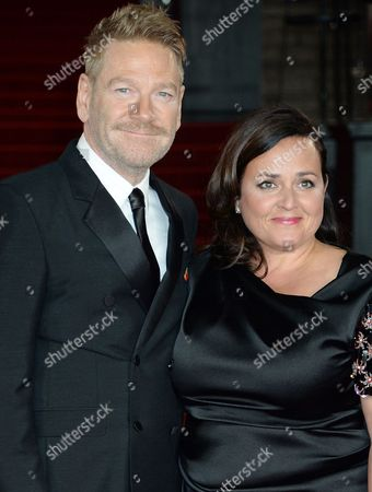 Stock Photo of Kenneth Branagh and Lindsay Brunnock