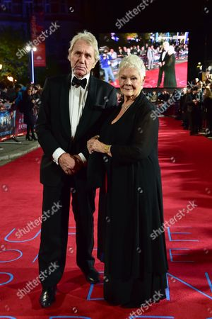 David Mills and Judi Dench