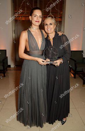 Rachele Regini and Maria Grazia Chiuri