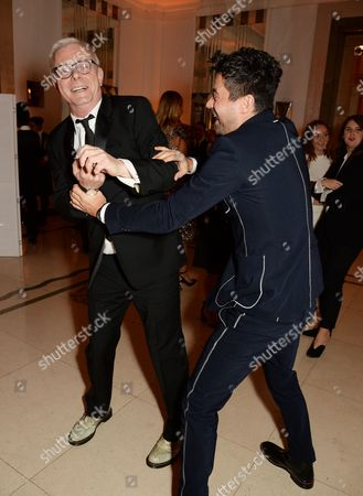 Stephen Daldry and Dominic Cooper
