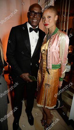 Charles Aboah and Adwoa Aboah