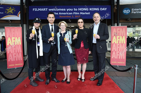 Editorial picture of Hong Kong Day at the American Film Market, Day 2, Loews Hotel, Los Angeles, USA - 02 Nov 2017