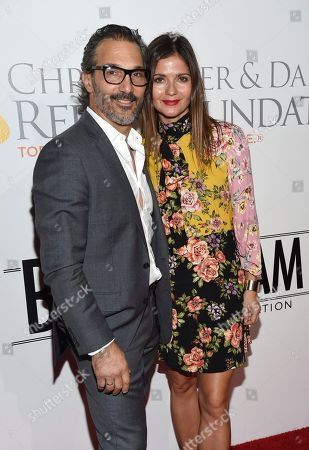 Paolo Mastropietro, Jill Hennessy. Paolo Mastropietro, left, and Jill Hennessy attend the Samsung Charity Gala at Skylight Clarkson Square, in New York