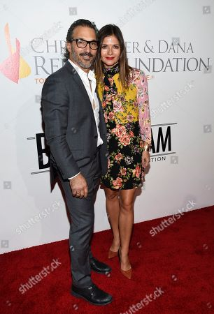 Paolo Mastropietro, Jill Hennessy. Jill Hennessy and husband Paolo Mastropietro attend the Samsung Charity Gala at Skylight Clarkson Square, in New York