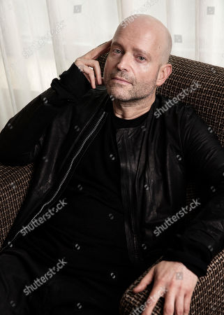 """Filmmaker Marc Forster poses in New York to promote his latest film, """"All I See Is You"""