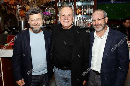 Andy Serkis, Joe Letteri (Sr. VX Supervisor), Mark Bomback (Screenwriter)