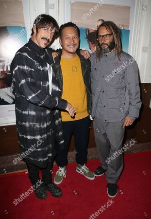 Stock Picture of Anthony Kiedis, Takuji Masuda, Tony Alva