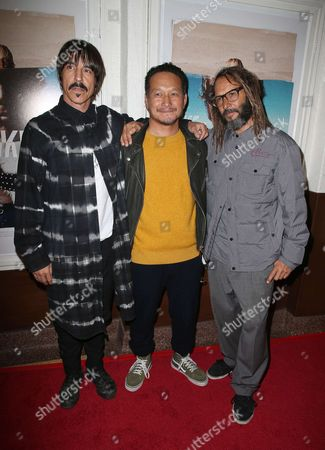 Stock Photo of Anthony Kiedis, Takuji Masuda, Tony Alva