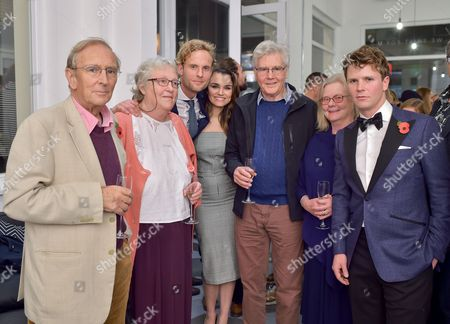 Editorial picture of James Vaulkard private view 'The Lovers who Spy', Unit London, London, UK - 02 Nov 2017