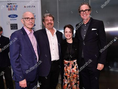 Kevin McCormick, John Wells, Courtenay Valenti and Guymon Casady
