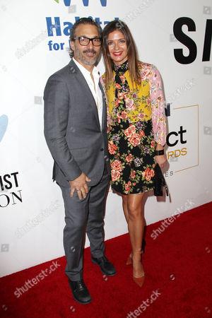 Paolo Mastropietro and Jill Hennessy