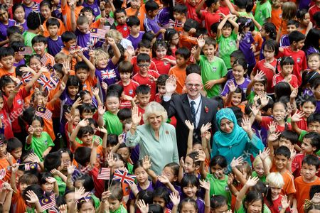 Editorial picture of Prince Charles and Camilla Duchess of Cornwall visit Malaysia - 03 Nov 2017