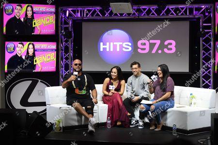 DJ Laz, Kiki Nyemchek, Koine Iwasaki, DJ Janetzy