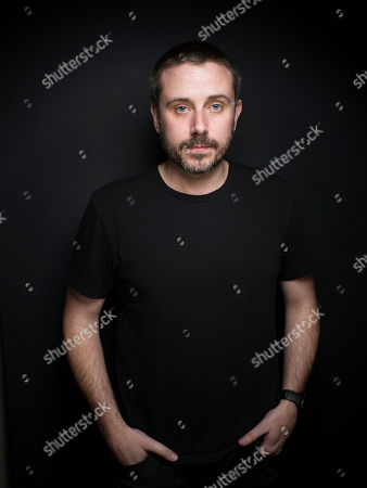 """Journalist/Author Jeremy Scahill from the film """"Dirty Wars"""" poses for a portrait during the 2013 Sundance Film Festival at the Fender Music Lodge on in Park City, Utah"""
